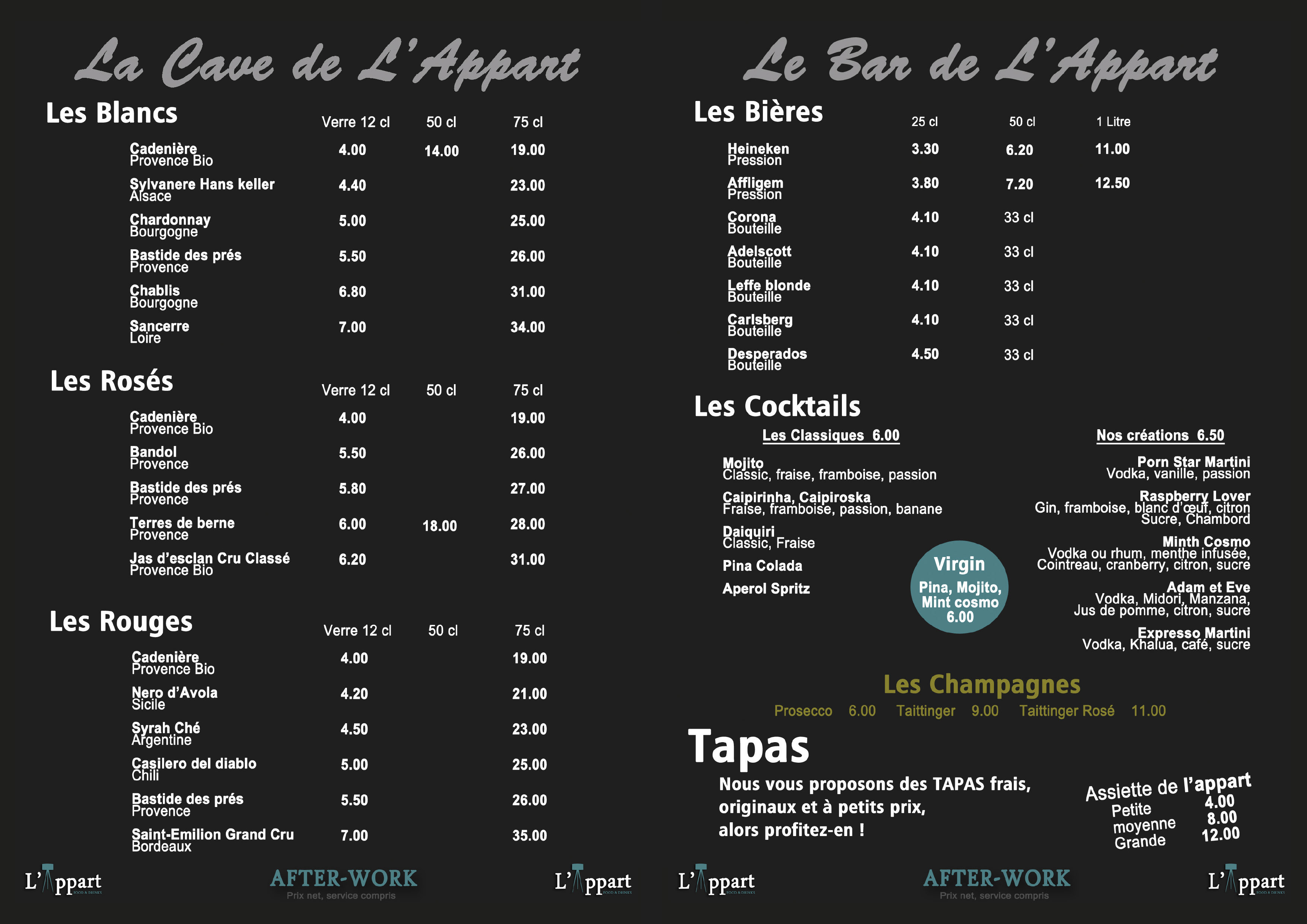 lappart-menu-a4-after-work-verso